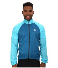 Pearl Izumi Elite Barrier Cycling Jacket Mykonos Blue Blue Atoll Men's Coat