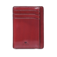 Il Bussetto Card Holder Bordeaux