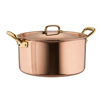 Ruffoni Gustibus Copper Clad Stockpot And Lid