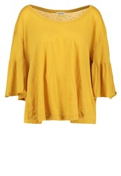 American Vintage Landway Long Sleeved Top Tawny Mustard