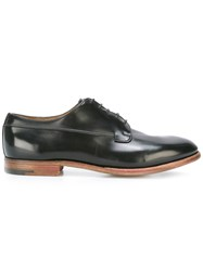 Premiata Book Brass Derbies Black