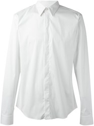 Givenchy Classic Long Sleeve Shirt White