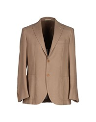 Montedoro Suits And Jackets Blazers Men Khaki