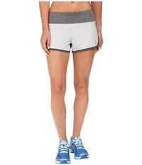 Asics Everysport Shorts Midgrey Women's Shorts White