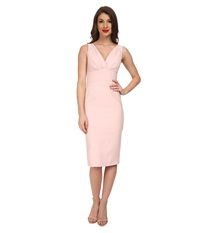 Stop Staring V Neck Dress Soft Pink Women's Dress