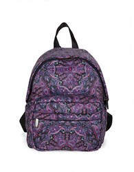 Le Sport Sac City Piccadilly Backpack Medallion