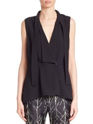 Proenza Schouler Sleeveless Wrap Top