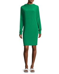 Norma Kamali All In One Jersey Dress Green