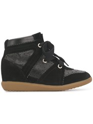 Isabel Marant Wedge Trainers Black