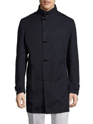 Strellson Sonik Car Coat Dark Blue