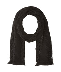Smartwool Marquette Scarf Black Scarves