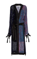 Diane Von Furstenberg Long Sleeve Kimono Dress Print