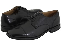 Bass Atlanta Cap Toe Oxford Black Polished Leather Men's Lace Up Cap Toe Shoes