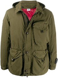 C.P. Company Cp 50 Fill Goggle Hooded Utility Jacket 60