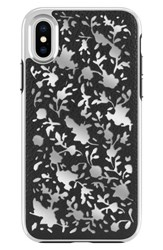 Rebecca Minkoff Luxury Calls Ditsy Floral Iphone X Case Black Black Silver