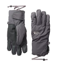 The North Face Guardian Etip Gloves Rabbit Grey Quail Grey Extreme Cold Weather Gloves Gray