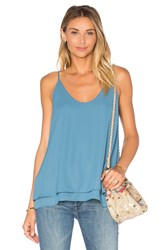 Krisa Double Layer Cami Blue