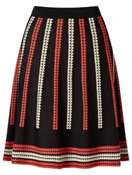 Alice By Temperley Somerset Jacquard Skirt Black