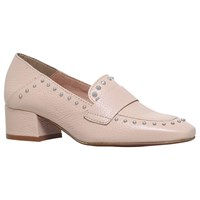 Kg By Kurt Geiger Keekee Block Heeled Loafers Pink