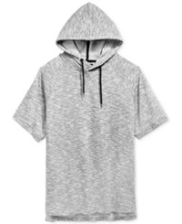 Ocean Current Men's Short Sleeve Hoodie Grey Multi