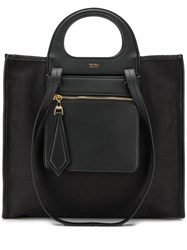 Max Mara Large Tote Bag Black
