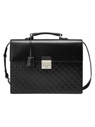 Gucci Signature Briefcase Black