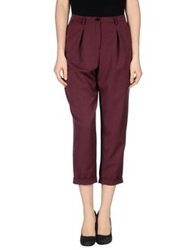 Laviniaturra Casual Pants Deep Purple