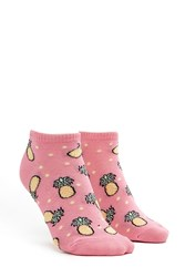 Forever 21 Pineapple Patterned Ankle Socks