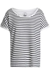 Petit Bateau Striped Jersey T Shirt Off White Off White