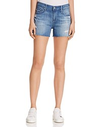 Ag Jeans Ex Boyfriend Denim Shorts In 14 Years Open Air Rip 14 Years Open Air Rip 14Y Opr