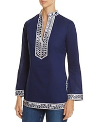 Tory Burch Embellished Tunic 100 Bloomingdale's Exclusive Navy Sea