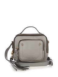 See By Chloe Patti Leather Cross Body Bag Light Grey