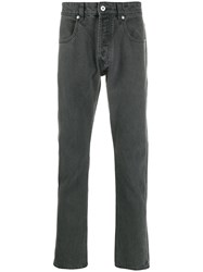 Natural Selection Narrow Graphite Jeans Grey