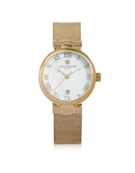 Lancaster Women's Watches Chimaera Yellow Gold Stainless Steel Watch