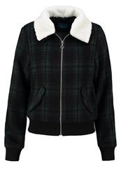 Twintip Light Jacket Black Green