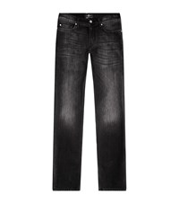 7 For All Mankind Ronnie Luxe Performance Skinny Jeans Male Black