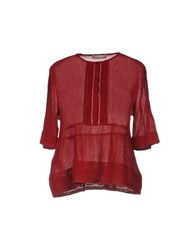 Stefanel Shirts Red
