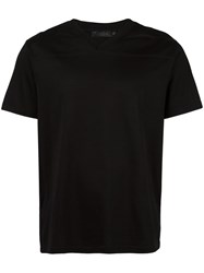 Calvin Klein Collection V Neck T Shirt Black