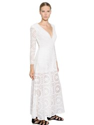 Temperley London Wide Leg Embroidered Lace Jumpsuit