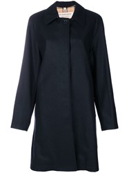 Burberry The Car Coat Blue