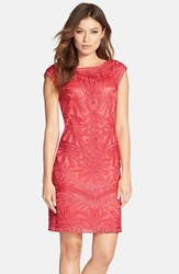 Women's Sue Wong Embroidered Shift Dress