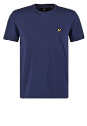 Lyle And Scott Basic Tshirt Navy Dark Blue