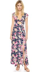 Minkpink Born To Be Wild Cutout Maxi Dress Multi