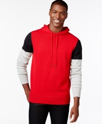 Sean John Big And Tall Colorblocked Hoodie