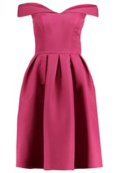 Chi Chi London Sheri Cocktail Dress Party Dress Berry