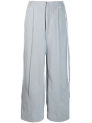 Y 3 Wide Track Trousers Grey