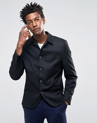 Selected Homme Regular Fit Smart Blazer With Stretch Black