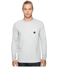 Rvca Double Time Athletic Heather Men's Clothing Gray