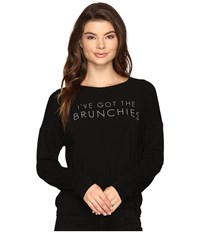 Culture Phit Brunchies Long Sleeve Top Black Women's Clothing