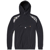 Adidas X Kolor Anorak Jacket Black And Metallic Silver